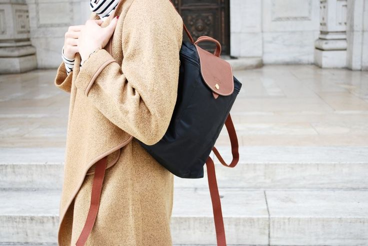 The prettiest Longchamp backpack