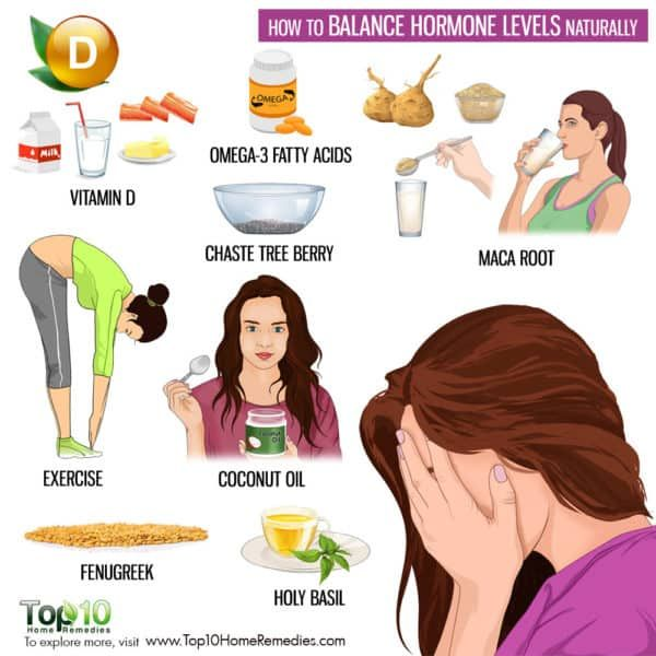 How To Balance Hormone Levels Naturally Top 10 Home Remedies Foods To Balance Hormones Hormone Balancing Healthy Hormones