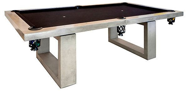 One Kings Lane - Concrete Creations - Outdoor Pool Table