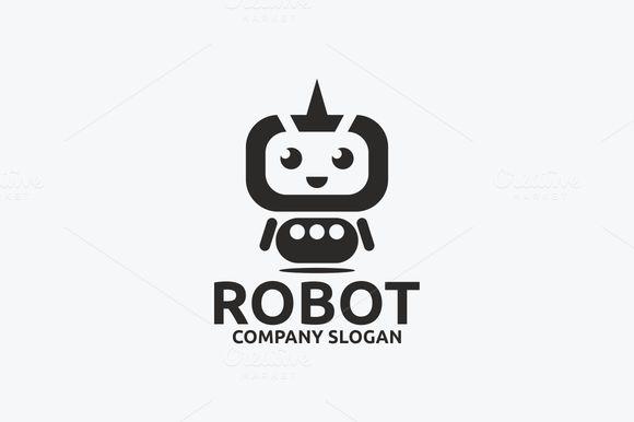 Robot logo @creativework247