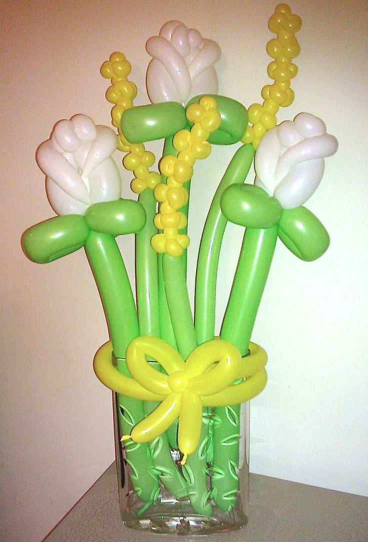 10 best balloon flower bouquet images on pinterest ballerina party balloon flower bouquet izmirmasajfo