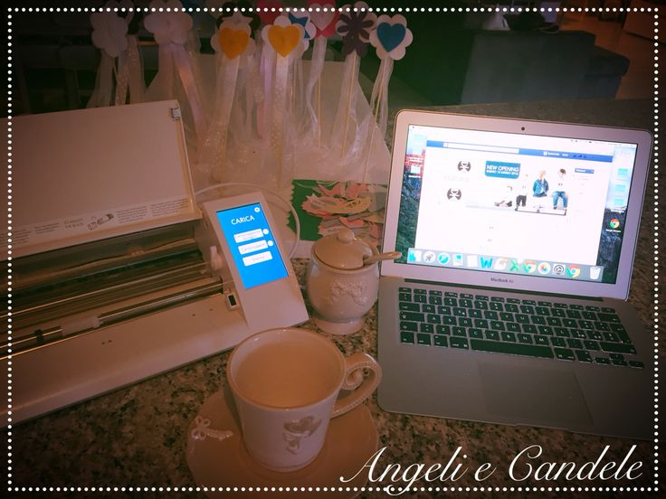 Creando.... #angeliecandele #iloveapple #creando #silhouette ❤️❤️❤️