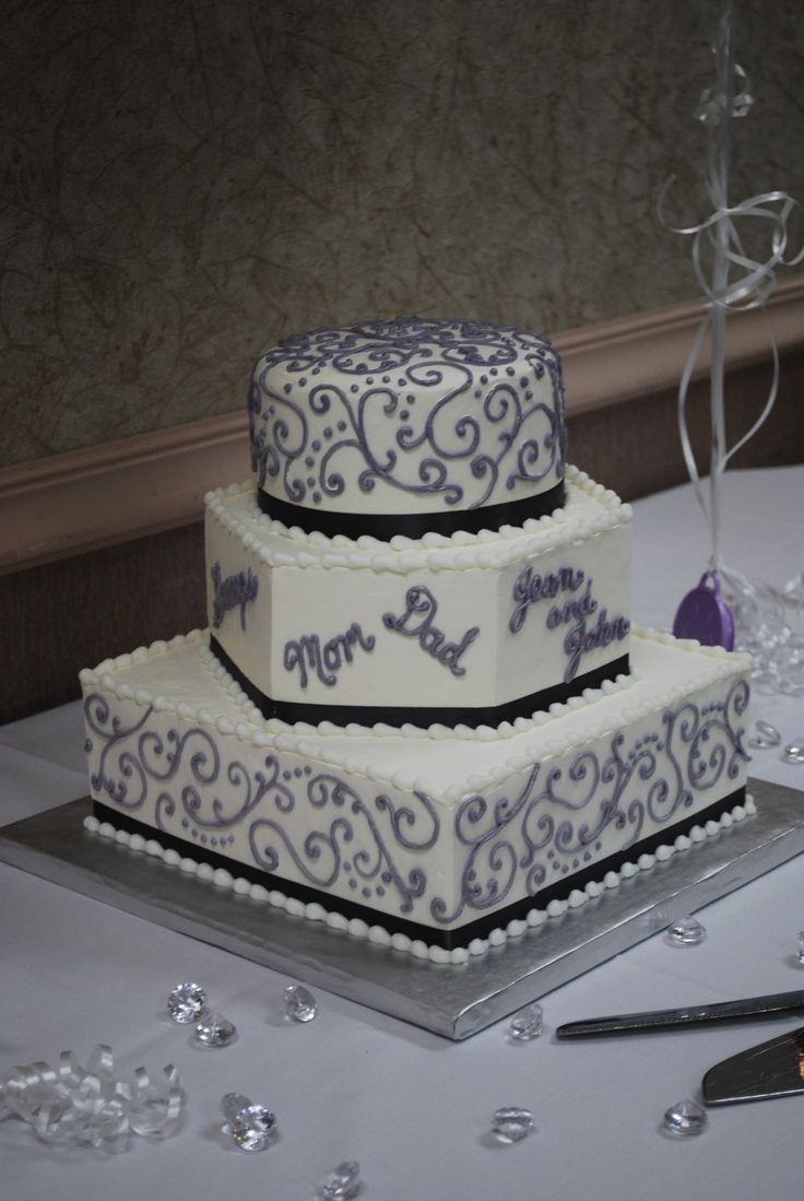 1000 Images About 25th Anniversary Cakes On Pinterest