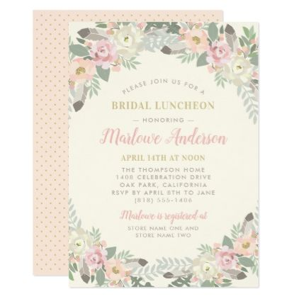 3393 best Wedding Invitations floral images on Pinterest - best of invitation party card