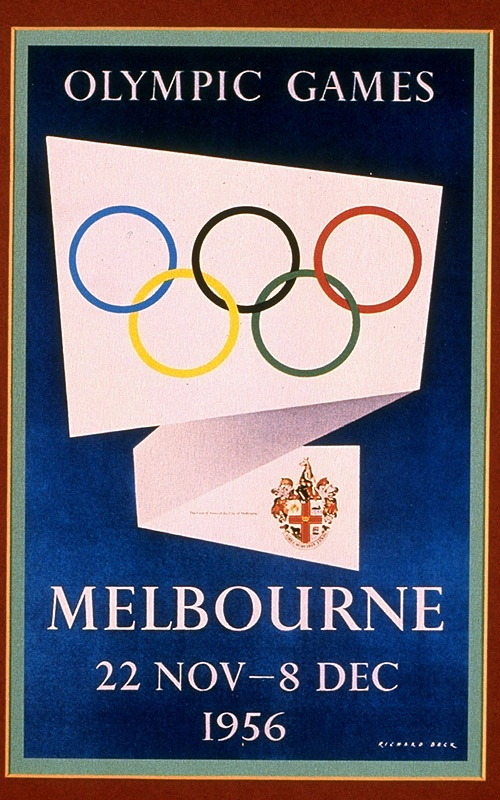 Melbourne, Australia Olympics, 1956