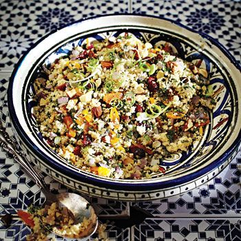 Fruit and Almond Couscous