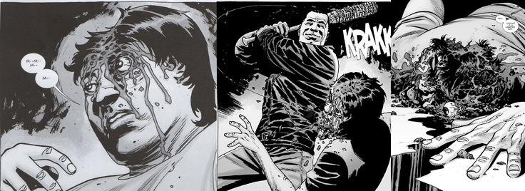walking dead. Negan killed Glenn