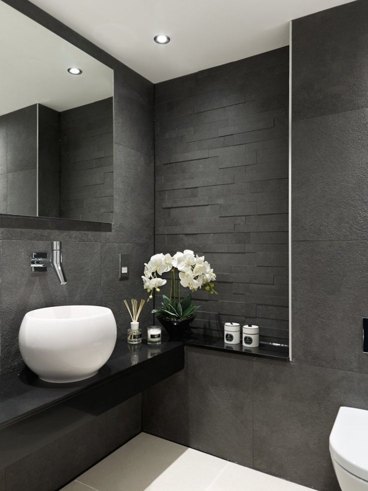 grey white and black bathrooms. Carrelage salle de bains et 7 tendances  suivre en 2015 Gray TilesBlack Best 25 Tile bathrooms ideas on Pinterest shower tile