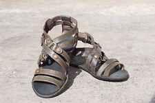 sandali bassi MISS SIXTY modello alla schiava in vera pelle Scarpe Estive