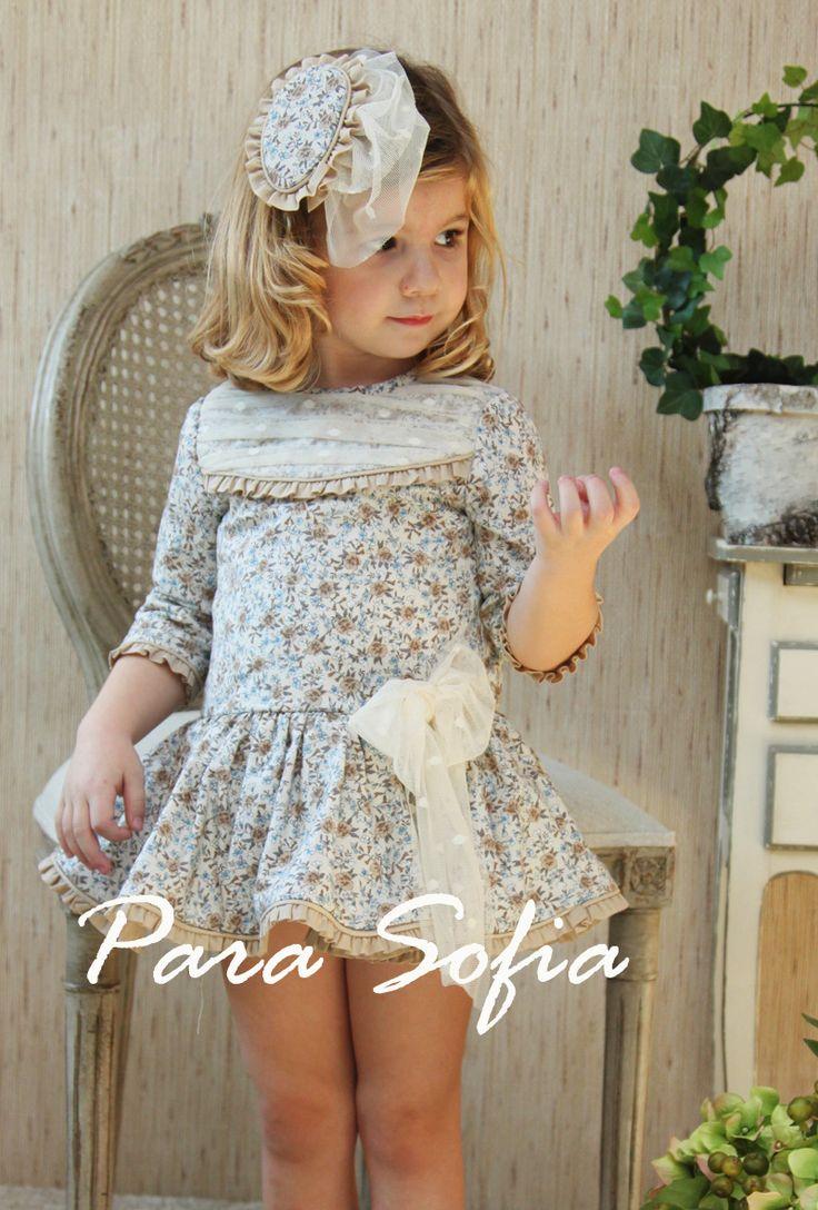para sofia moda infantil vestidos niña