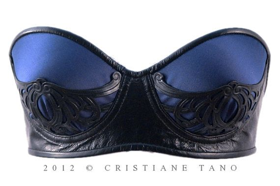 Cristiane Tano | Lovely longlines | Pinterest | Leather bra, Bra and Leather