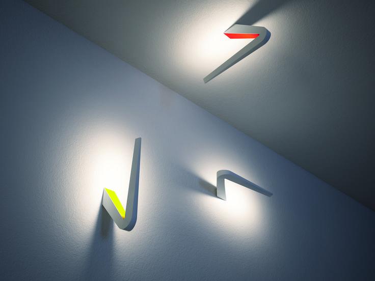 TICK - Ha una forma plastica che rimanda ad un segno grafico.