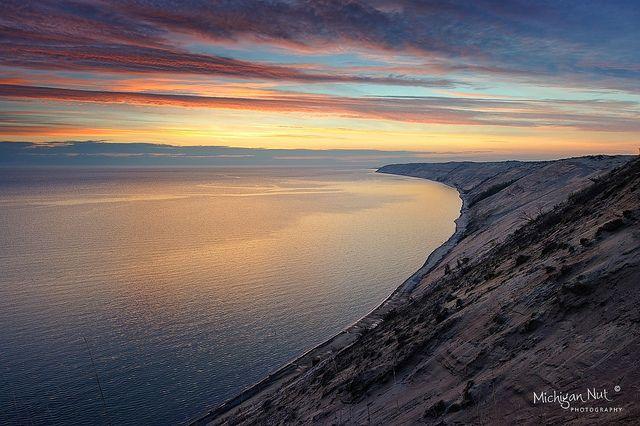 Grand Sable Dunes Sunrise ~ Pictured Rocks National Lakeshore | Flickr - Photo Sharing! Photo credit: John McCormick - Michigan Nut Photography