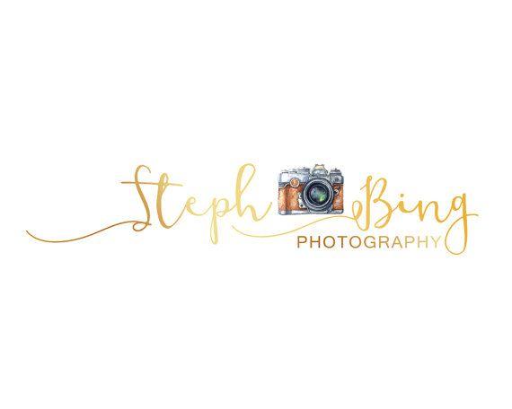 Gold Branding Kit Photographer Custom Design by LoveArtsStudio