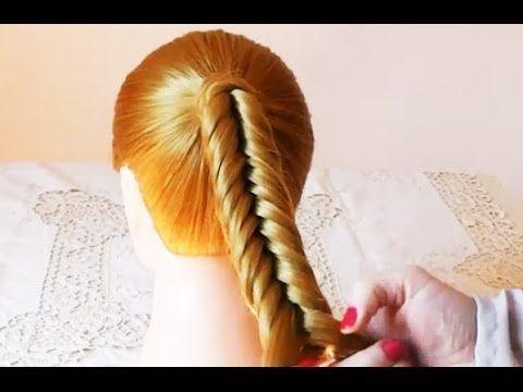 Treccia a lisca di Pesce inversa tutorial | Beautydea - YouTube