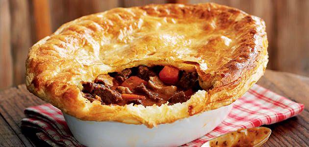Steak & Ale Pie Recipe Idea - Sainsbury's
