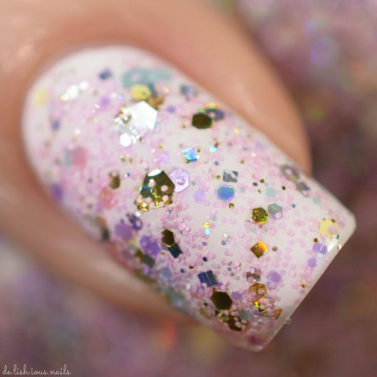 Cotton Candy Glitter Nails: 25+ Best Ideas About Pink Glitter Nails On Pinterest