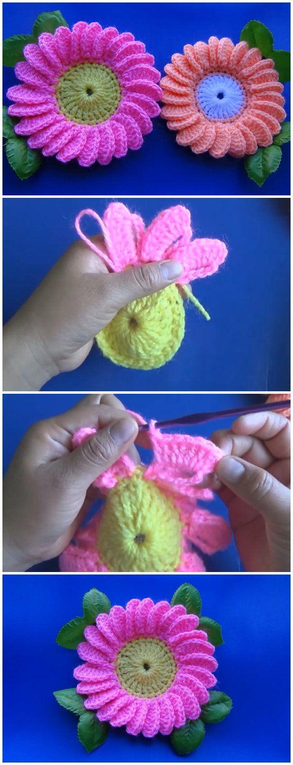Crochet Margarita Flower