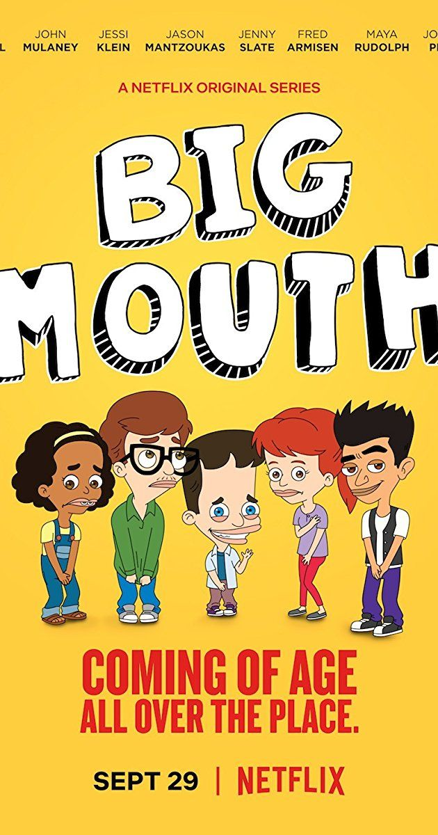 "Not usually a Nick Kroll fan but this Netflix show ""Big Mouth"" is hilarious! http://ift.tt/2eBTflB"