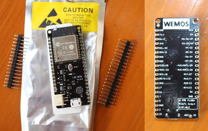 Wemos-Lolin32 | ESP8266 | Real time operating system