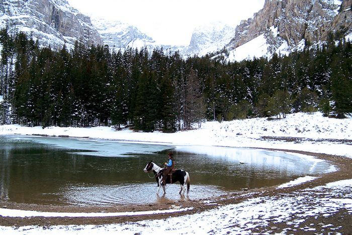 Lace up your boots and get ready for a snowy, beautiful trail ride.