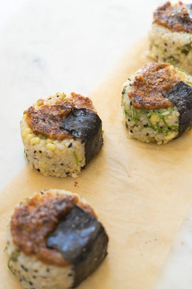 ... rice balls salmon flakes and scrambled egg rice balls 64 9 amy liao