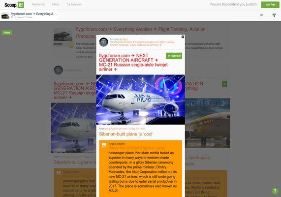 flygcforum.com ✈ NEXT GENERATION AIRCRAFT ✈ MC-21 Russian single-aisle twinjet airliner ✈