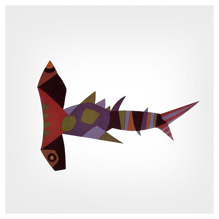 """styletaboo: """"César Manrique - Pez Martillo, Fish Series """""""