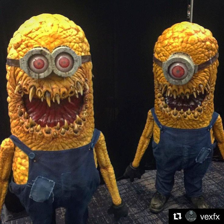 #Repost @vexfx Minions invade #sonofmonsterpalooza #monsterpalooza
