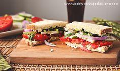 Mississippi Kitchen: Copycat Panera Bread Mediterranean Veggie Sandwich