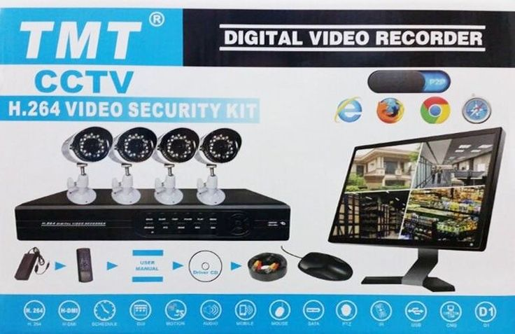 Home security Camera Kits for sale, cheap and affordable, mobile view is also on option on these systems. Please give us a call or come have a look at out shop. we also install on request,