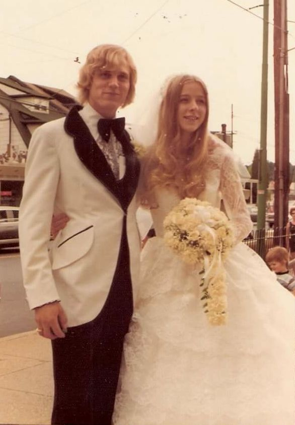 1975 newlyweds