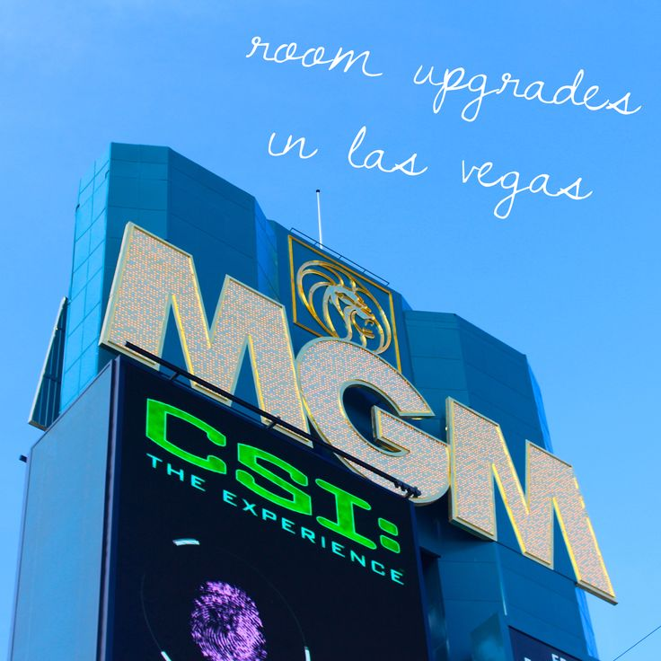 Travel.Food.Film: Room Upgrades At MGM Hotel : Las Vegas