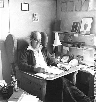 Favorite Childhood Author Roald Dahl - Matilda, Witches, BFG, and so many more...