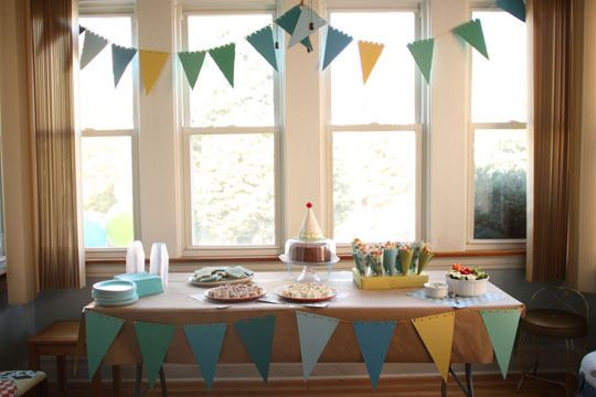 Best Kids Parties: A Simple First Birthday at Home My Party: Jude Huckleberry (Chicago, IL)