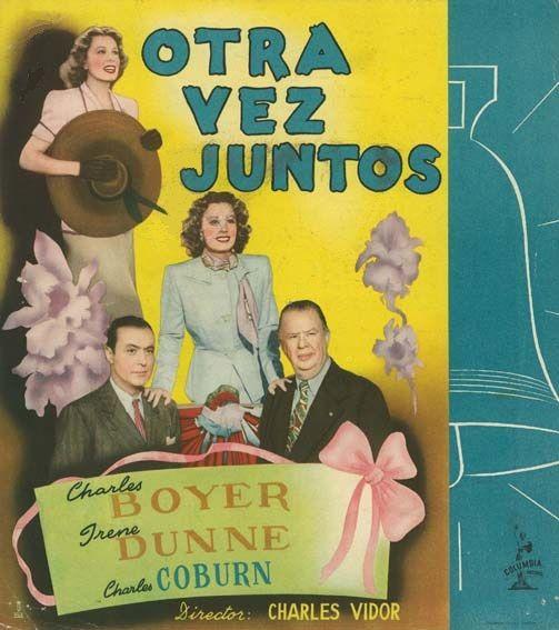 """Otra vez juntos (1944) """"Together Again"""" de Charles Vidor   - tt0037384"""