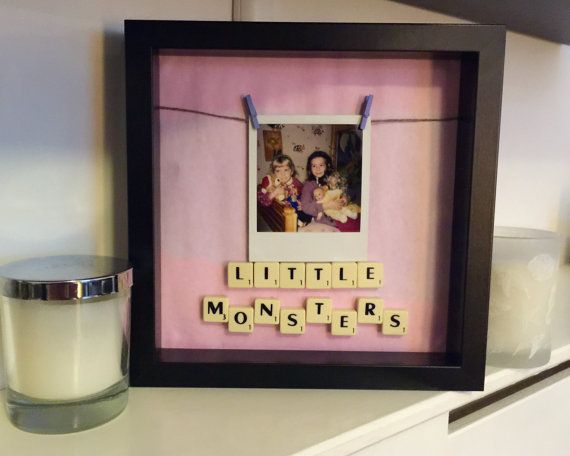Personalised Scrabble Frame by ThatsNotMyFrame on Etsy