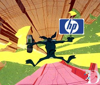 Hewlett-Packard Shares Dropped From Dow Jones Industrial Average