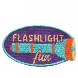 Fun patch for your Girl Scouts from MakingFriends.com. Take a night hike, play flash light tag, tell ghost stories or any other night time fun deserves a memorable fun patch.