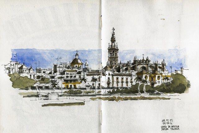 Por razones administrativas, el jueves pasé el día en Sevilla. El viaje tuvo algo de reencuentro, pues tuve la suerte de vivir allí una bue...