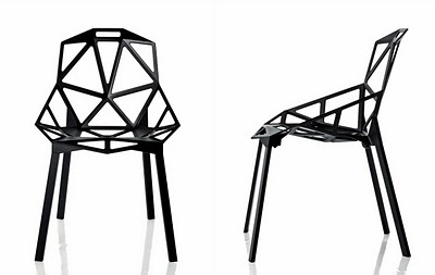 Konstatine Gricic's One chair is an absolute classic. Super clean and minimal, the chair is all it needs to be and yet is decorative in its simplicity. Best in black.