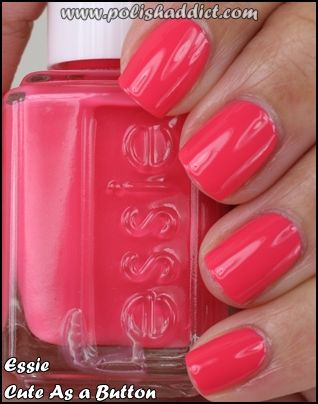 Essie: Pink Summer, Essie Nails, Nails Colors, Spring Colors, Pretty Nails, Summer Nails, Nails Polish, Summer Colors, Bright Colors