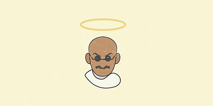 Σημειώσεις | Η Ιστορία του 20ου αιώνα σε σκίτσα Θάνατος του Γκάντι, 1948