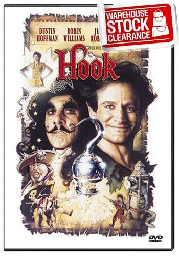 #awesome A high-flying adventure from the magic of Steven Spielberg, #HOOK stars Robin Williams as a grown-up Peter Pan and Dustin Hoffman as the infamous Captai...