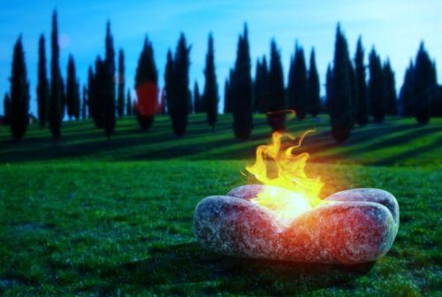 Prometeus Fire Pit 2014 - Marmi Bruno Zanet - Marcello Mastromatteo #prometeus #prometheus #marcello #mastromatteo #industrial #designer #marmi #bruno #zanet #marmi #marmo #marble #bruno #zanet #fire #pit #fire #place #place #pit #outdoor #luxury #lifestyle #verona #granito #granite #stone #matrix #black #made #in #italy #made