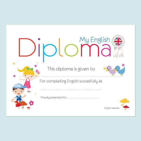 My english diploma 1