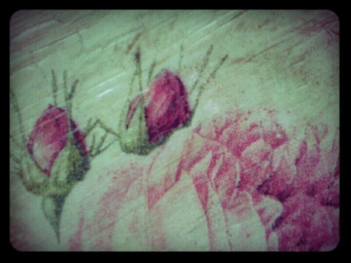 Różane pudełko by me