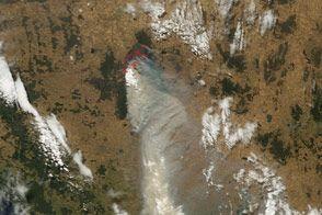 Grampians Fire, Australia : Natural Hazards : NASA Earth Observatory