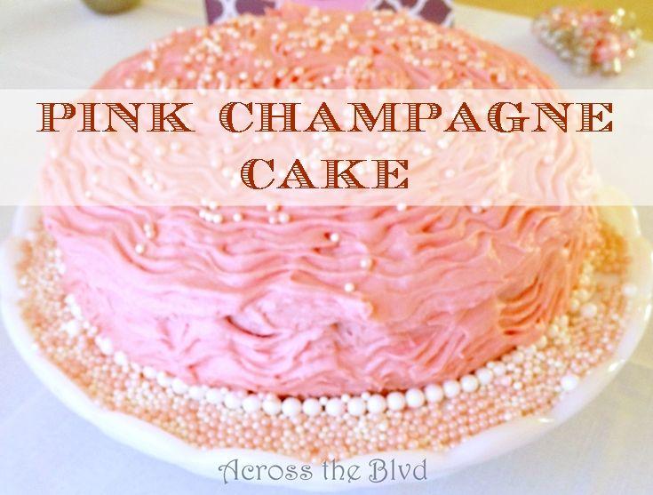 Betty Crocker Pink Champagne Cake