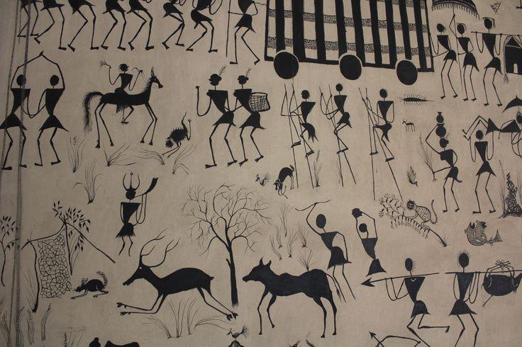 Kamalan Pathfinders were at the Delhi Crafts Museum.